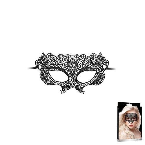 Princess Black Lace Mask